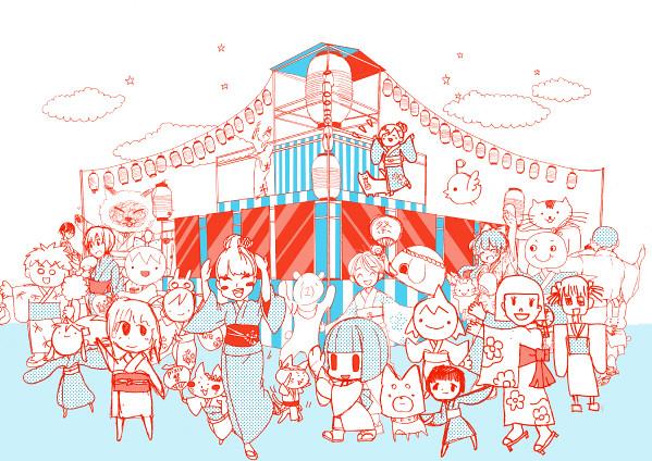 【pixiv祭】開催!メインモニュメントの「イラストやぐら」をみんなでつくろう!