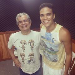@NelsonAugusto e @MarcosLessa nos estúdios #programaCulturaeMúsica