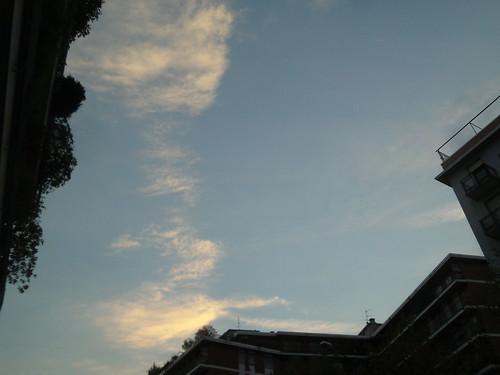 Una soffiata di nuvole by Ylbert Durishti