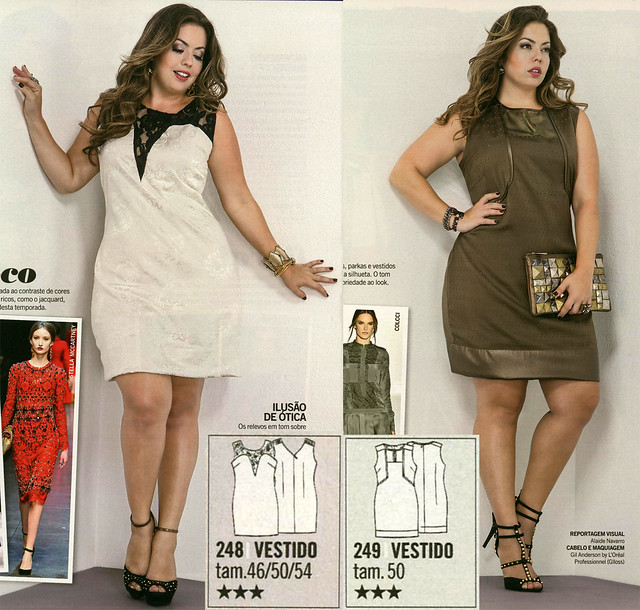 Manequim-2013-May Plus Size Dresses