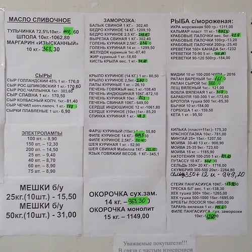 Кто спрашивал - цены на мелкооптовой базе в Крыму #нездороваяпища