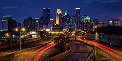 Minneapolis-35W sans southbound traffic