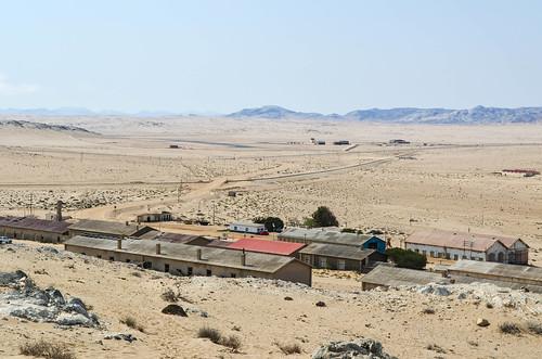 Kolmanskop ghost mining town - Panorama