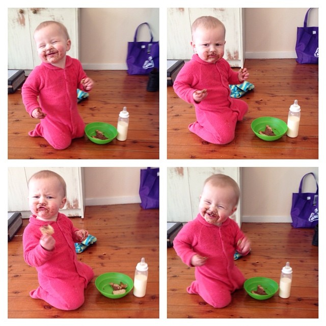 The many faces of the bearded breakfast baby #babyjagoe