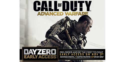 Call of Duty: Advanced Warfare will be playable 24 hours early with Day Zero Edition