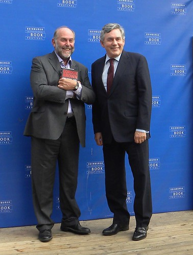 Alistair Moffat and Gordon Brown