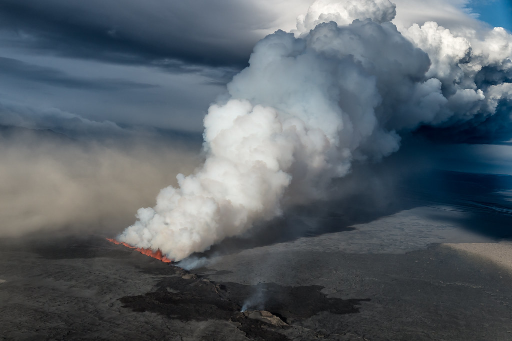Volcanic eruption in Holuhraun - Iceland