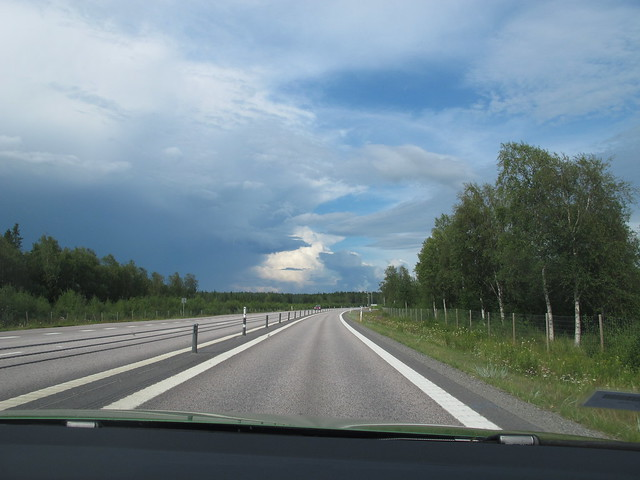 saturday, towards umeå