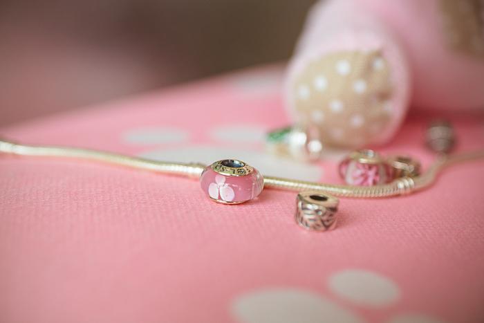Olga choi fashion blogger myblondegal  Korea Soufeel charm bracelet 925 silver-00263