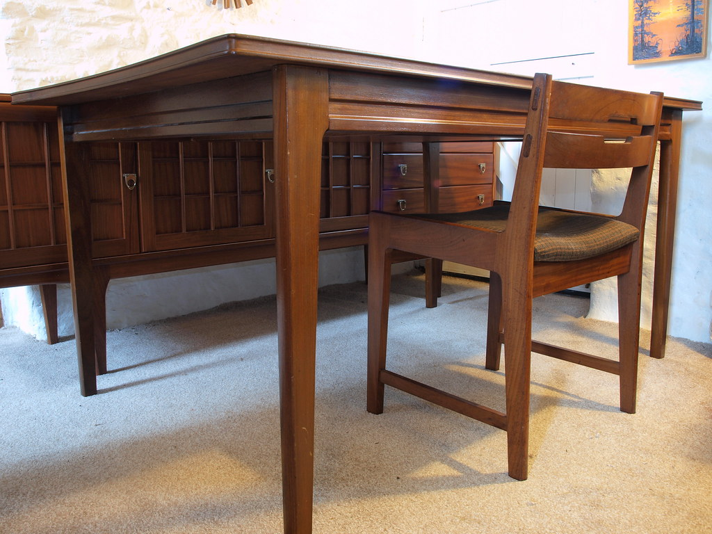 Modernist Richard Hornby Afromosia dining table amp six  : 14951260149fa491e8871b from www.roadtoretro.co.uk size 1024 x 768 jpeg 263kB