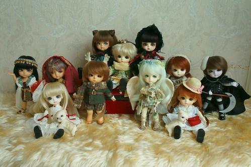 Gang of my Lati babies
