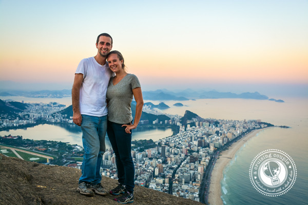 Two Brothers Mountain View Over Rio de Janeiro