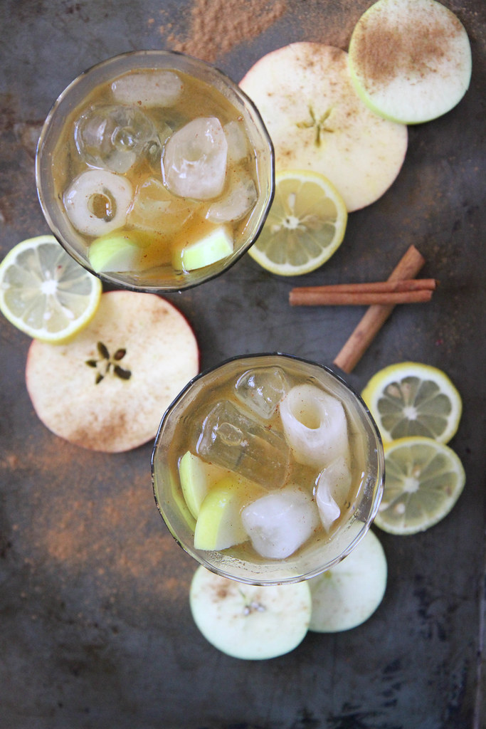 Apple Cider Bourbon Punch