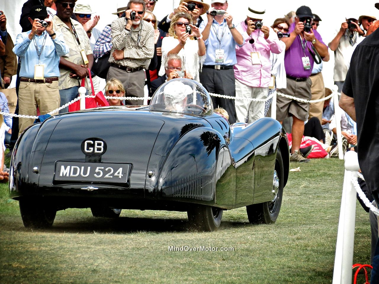 Pebble Beach 2014 Jaguar XK120 Open 2 Seater