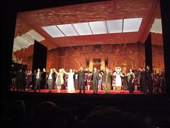 Curtain Call after The Tsar's Bride at the Royal Opera House