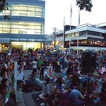 Movie Night in the Plaza, August 22 2014
