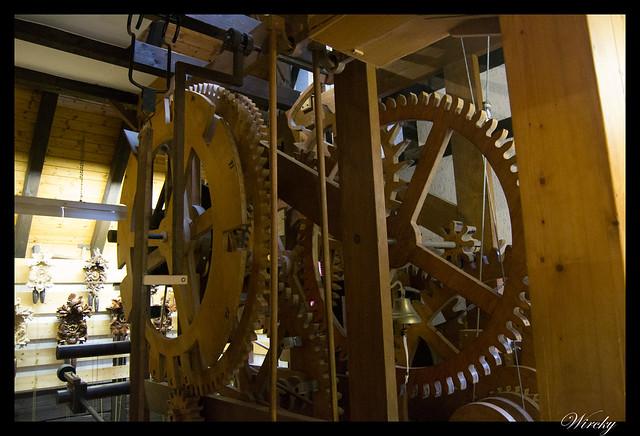 Engranajes del Reloj de cuco de Schonach