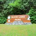 Small photo of Entering Alice Lake Park