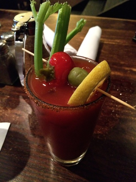 Bloody Mary cocktail - Busboys and Poets