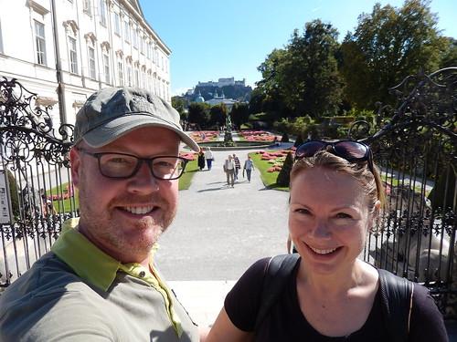 Salzburg - Mirabellgarten - trap van The Sound of Music