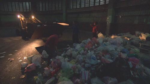 無法回收只能焚燒的垃圾,將近1/4是塑膠垃圾。