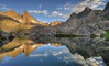 Morning Reflections in Minaret Lake