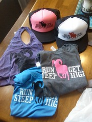 So excited... Thank you Jamil for the awesome gear! I can't wait to be an Arizona resident and hit the trails with all of you desert run junkies!!!:-)