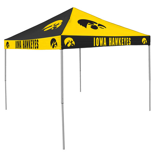 Iowa Hawkeyes Checkerboard Tailgating Tent  sc 1 st  Tailgatorz & NCAA College Team Canopies aka Easy Up Tent Shelter for Tailgating ...