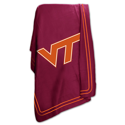 Virginia Tech Hokies NCAA Classic Fleece Throw