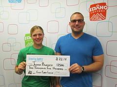 Joshua Burgess - $2,500 First Class Fortune
