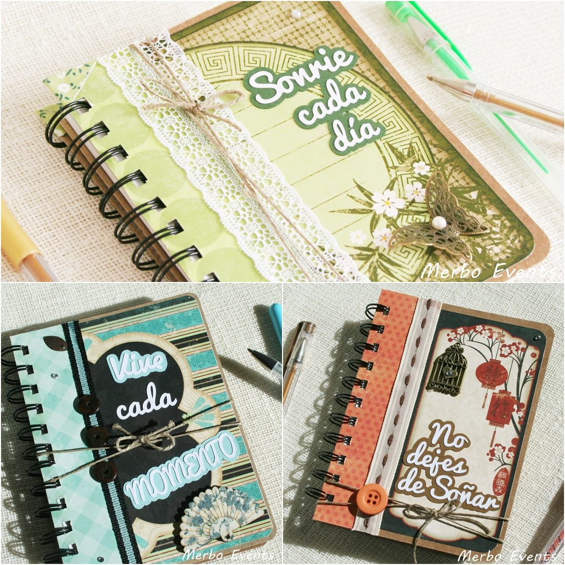 mix Libreta agenda personalizada Merbo Events