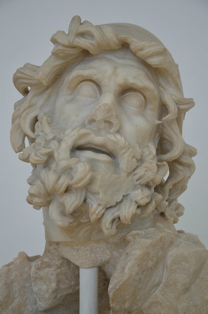 Head of Ulysses from the Blinding of Polyphemus group, Tiberian age, Sperlonga
