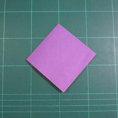 วิธีพับกระดาษเป็นรูปเต่าแบบง่าย (Easy Origami Turtle) 003