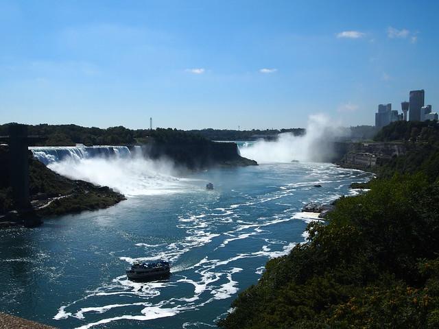 P9207829 カナダ,アメリカ,レインボーブリッジ,Rainbow Bridge,Niagara Falls,Ontario,Canada