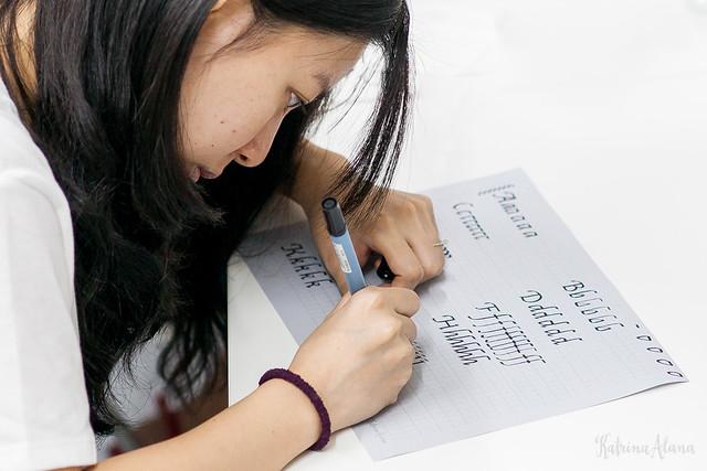 Zig Marker Italic Guide Sheets