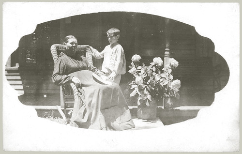RPPC Woman and Child