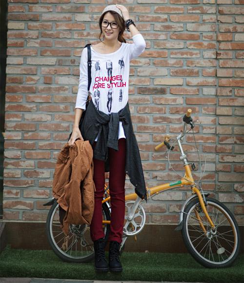 Mix đồ thời trang Thu Đông 2014 CỰC ấn tượng 12