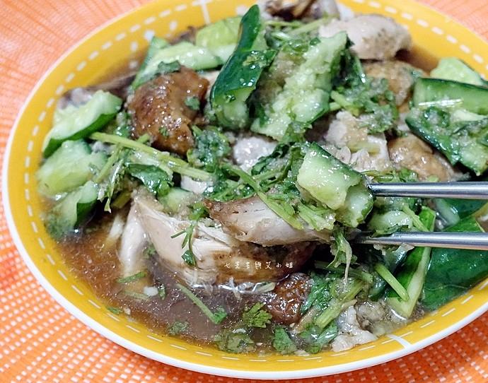 21 永寶餐廳山東燒雞墨魚香腸