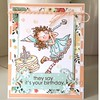 Love this cute girl from penny black stamp