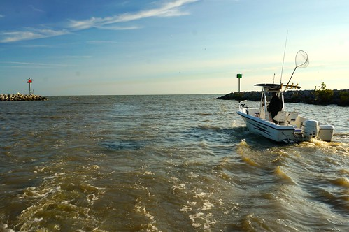 USDA is investing funds to help improve the water quality of Lake Erie. USDA Photo by Garth Clark.