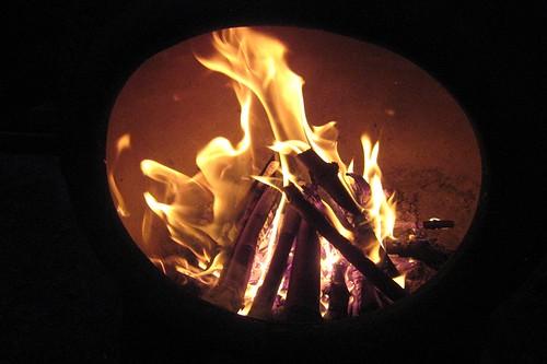 Chimnea fire