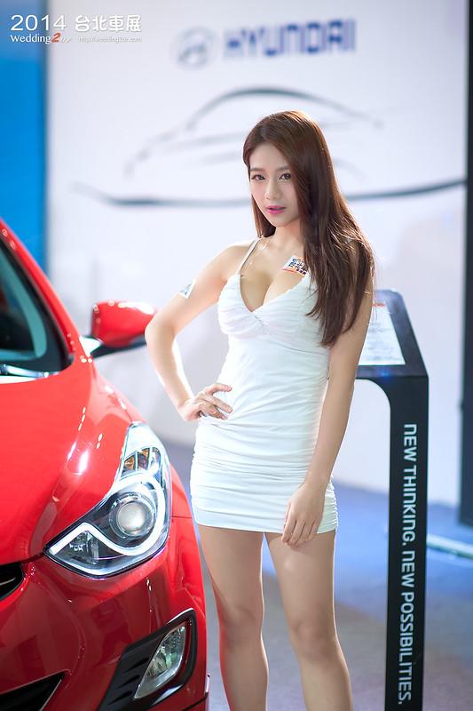 2014台北車展 show girl,33