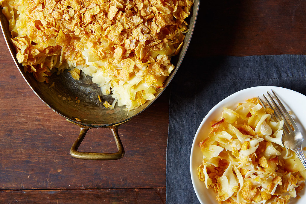 you grew up on your bubbe's kugel or you have no idea what kugel ...