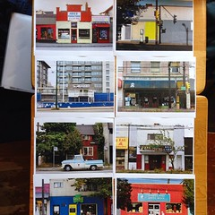 Proofing selects for our upcoming Disappearing Main Street photo exhibit at Bean on 20th next month. Details soon!