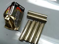 exhaust system(0.0), metal(1.0), ammunition(1.0),