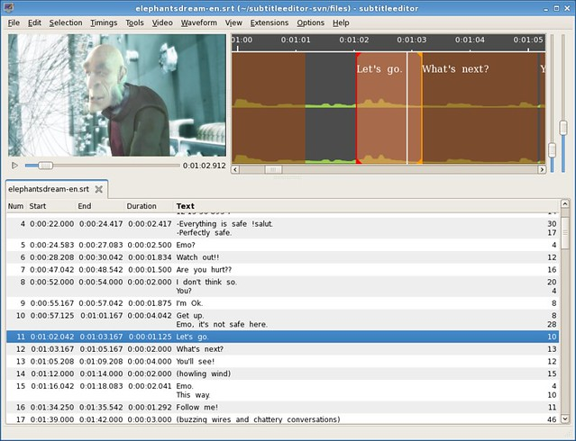 What is a good subtitle editor on Linux - Xmodulo