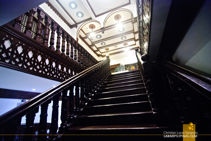 Grand Staircase at Hotel Luna in Vigan