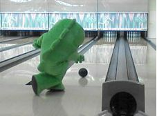 gachapin-bowling