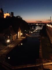 Walkabout: Locks, Ottawa river, Venus & Jupiter.