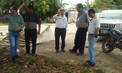 Alcalde de Chone mantuvo reunión de trabajo con funcionarios y técnicos de CNEL